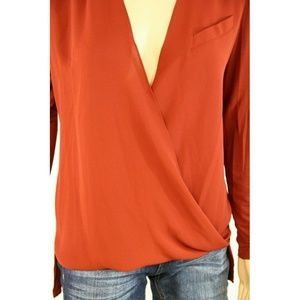 Vince Camuto Tops - Vince Camuto Women Brown Blouse